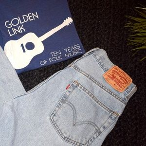 Levi's red tab 505 jeans